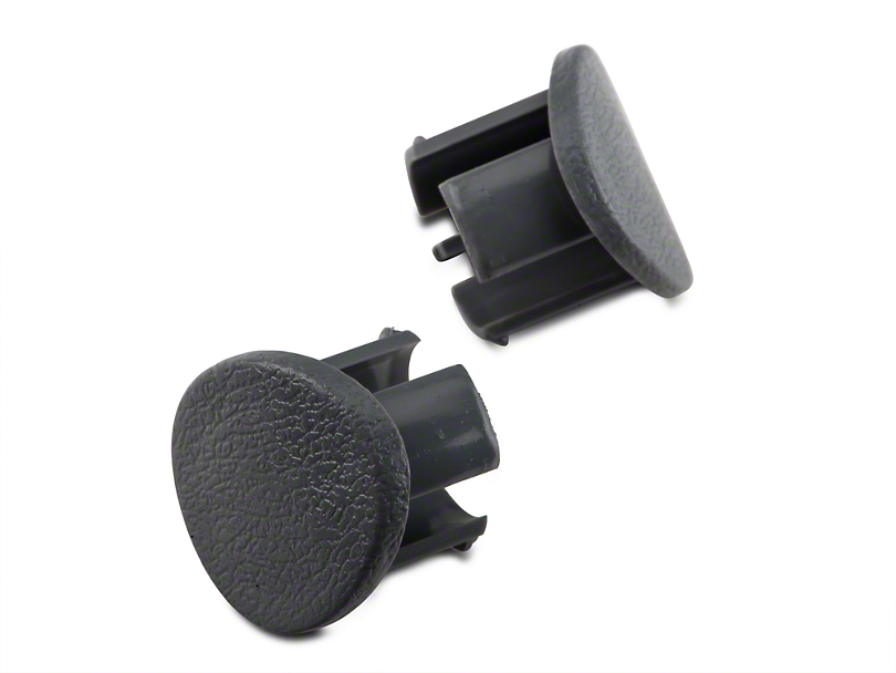 OPR Gray Door Armrest Plugs - Right Side (87-93 All)