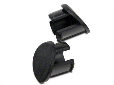 Add Black Door Armrest Plugs - Right Side (87-93 All)