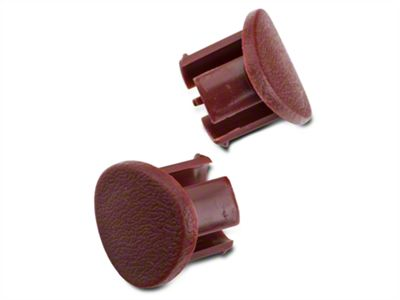 OPR Red Door Armrest Plugs - Right Side (87-93 All)
