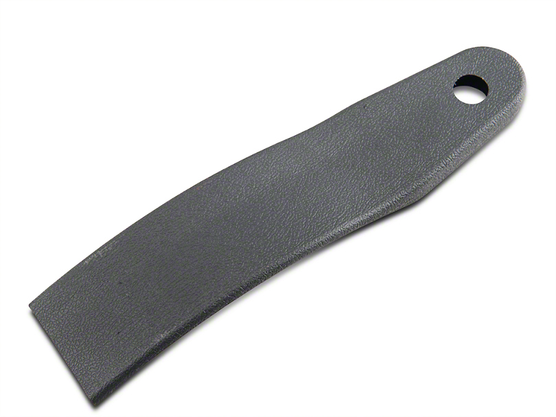 OPR Outer Seat Belt Sleeve - Charcoal Gray (79-86 All)