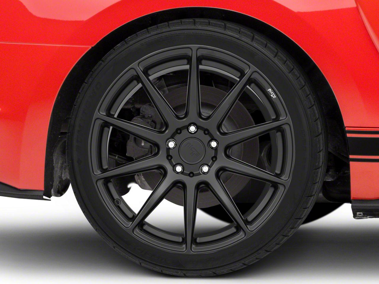 Niche Essen Matte Black Wheel 19x10 - Rear Only (15-19 All)
