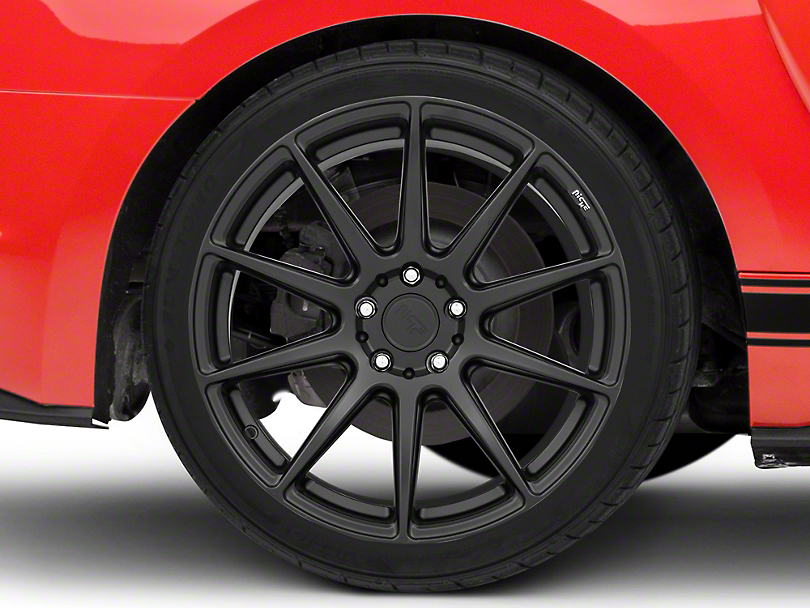 Niche Essen Matte Black Wheel 19x10 - Rear Only (15-19 All)