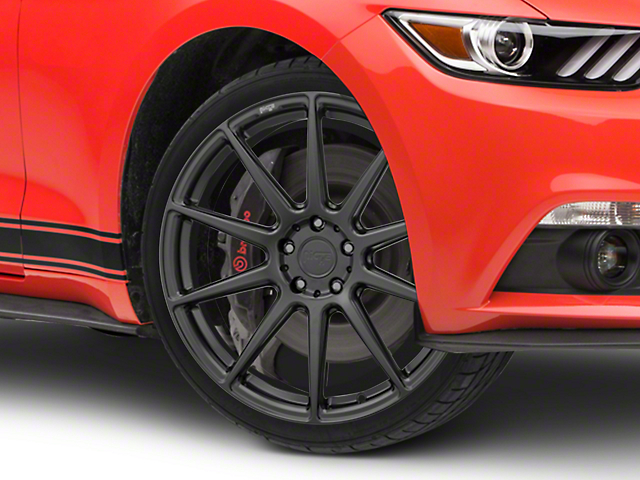 Niche Essen Matte Black Wheel 20x9 (15-17 All)