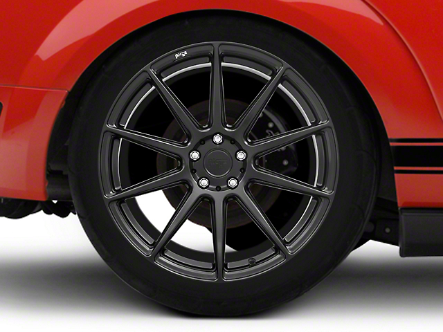 Niche Essen Matte Black Wheel 20x10 - Rear Only (05-14 All)