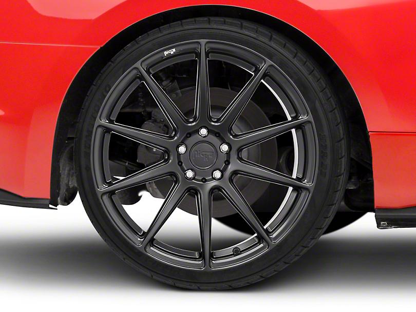 Niche Essen Matte Black Wheel 20x10 (15-18 All)