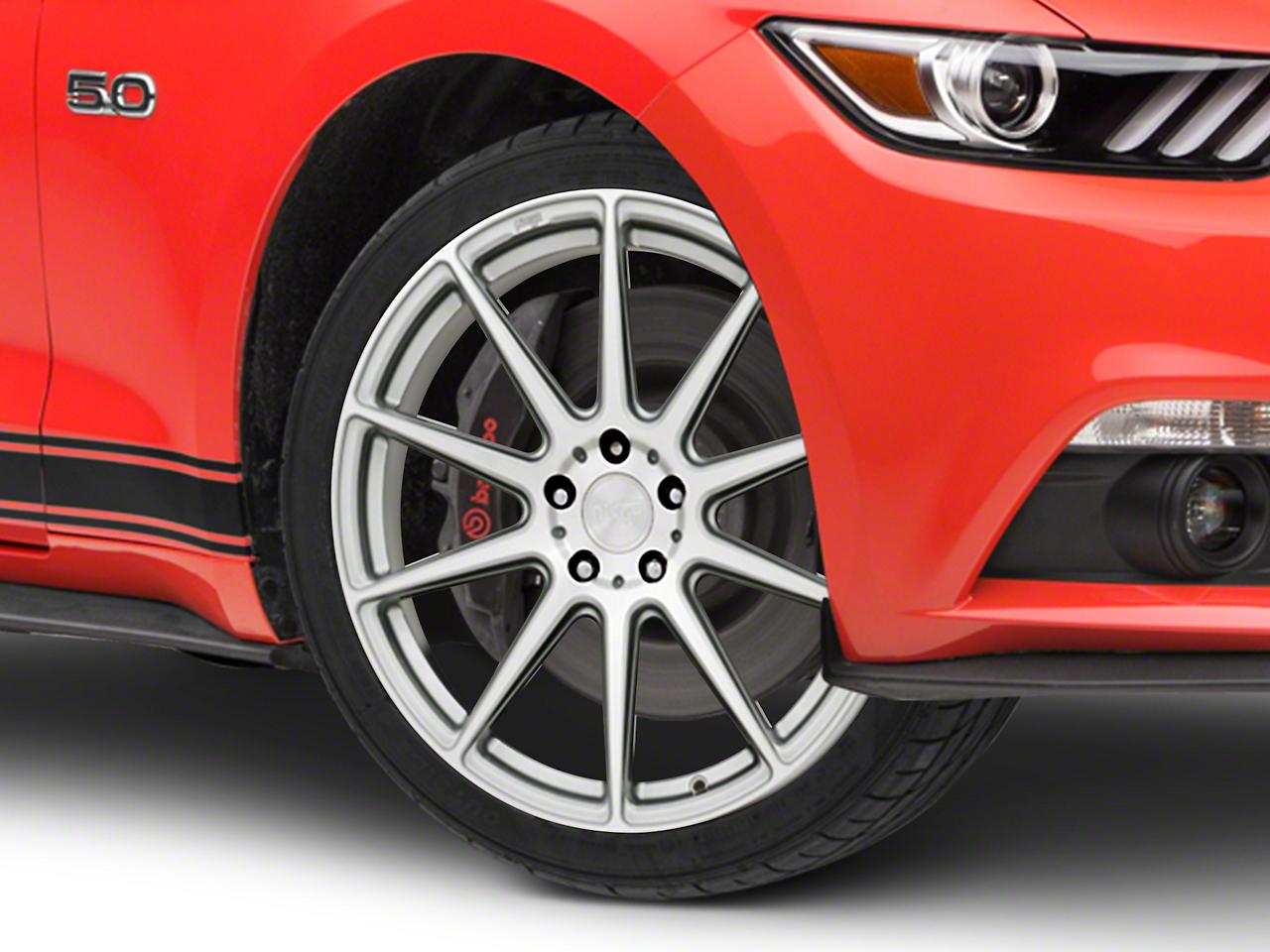 Niche Essen Silver Wheel 19x8.5 (15-18 GT, EcoBoost, V6)