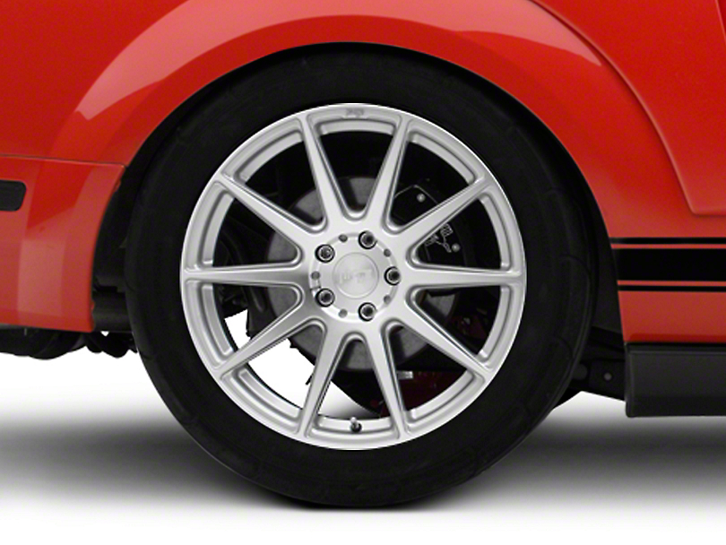 Niche Essen Silver Wheel 19x10 - Rear Only (05-14 All)