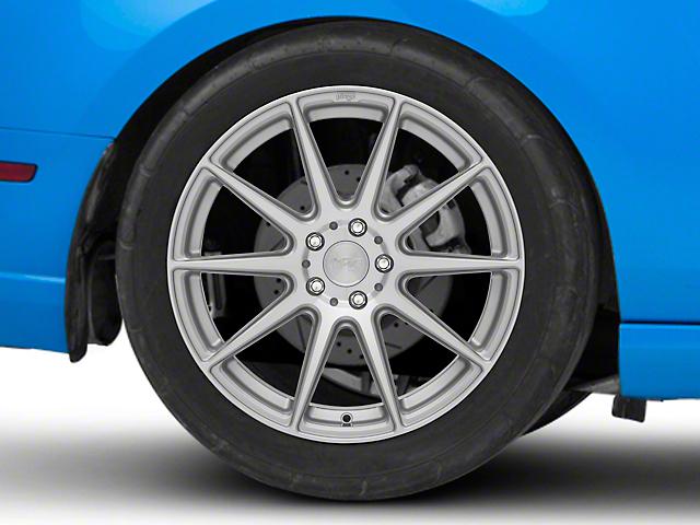 Niche Essen Silver Wheel; Rear Only; 19x10 (10-14 All)