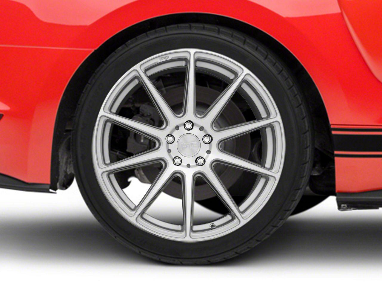 Niche Essen Silver Wheel 19x10 - Rear Only (15-19 All)