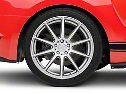 Niche Essen Silver Wheel; Rear Only; 19x10 (15-20 GT, EcoBoost, V6)