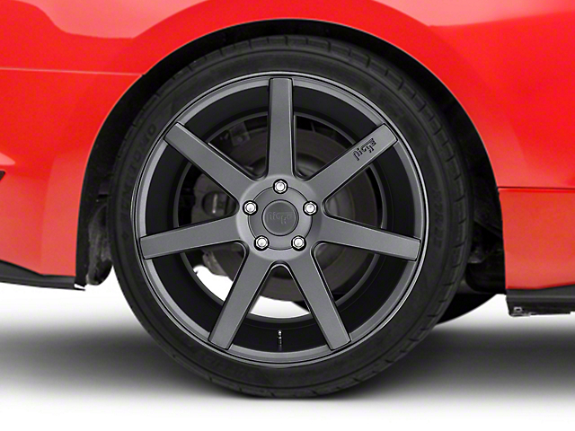 Niche Verona Anthracite Wheel - 20x10 - Rear Only (15-19 GT, EcoBoost, V6)