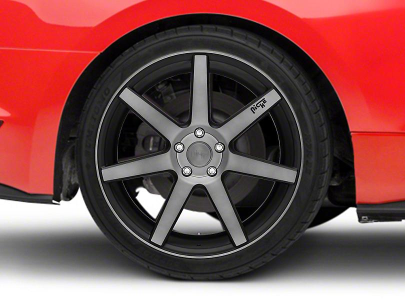 Niche Verona Double Dark Wheel - 20x10 (15-17 All)