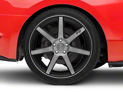Niche Verona Double Dark Wheel - 20x10 (15-18 GT, EcoBoost, V6)