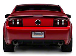 American Muscle Graphics Rear Decklid Decal; Black (05-09 All)