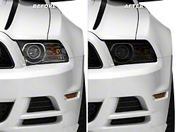 American Muscle Graphics Headlight Tint; Smoked (10-14 All)