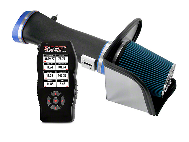 Steeda Cold Air Intake And BAMA X4 Tuner (07-09 GT500)