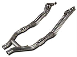 Stainless Works 1-7/8-Inch Long Tube Headers with High Flow Catted H-Pipe (11-14 GT500)