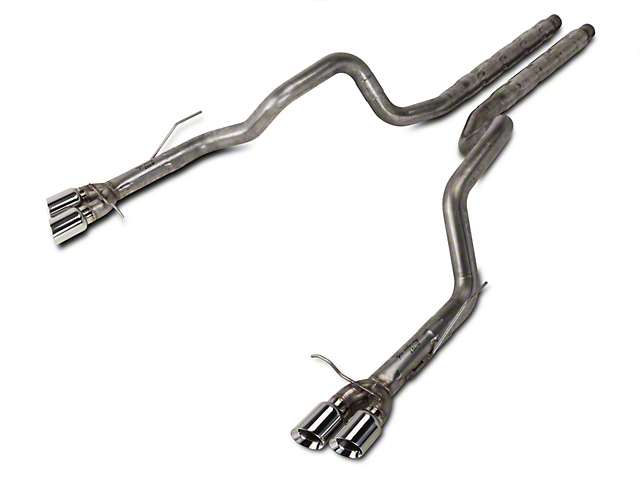 Stainless Works 3-Inch Retro Chambered Cat-Back Exhaust (13-14 GT500)