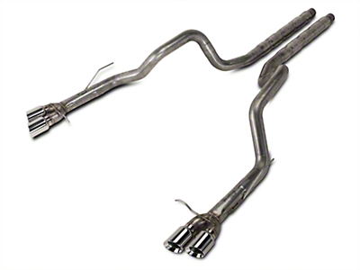 Stainless Works 3 in Retro Chambered Cat-Back Exhaust (13-14 GT500)