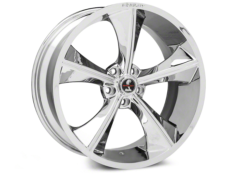 Shelby CS70 Chrome Wheel - 20x9 (15-18 GT, EcoBoost, V6)