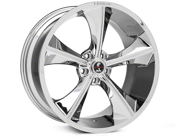 Shelby CS70 Chrome Wheel - 20x10 (15-18 GT, EcoBoost, V6)
