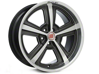Shelby CS69 Hyper Black Wheel - 20x10 (15-17 All)