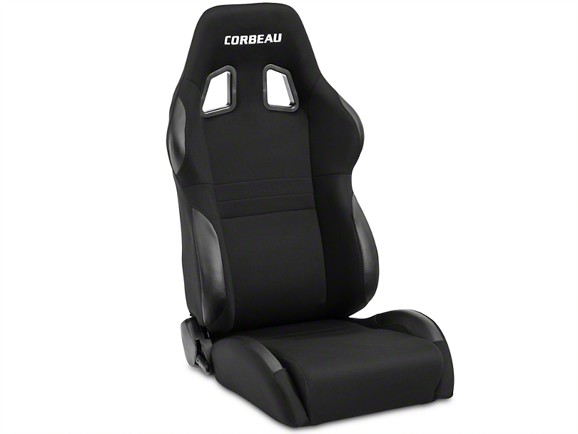 Corbeau A4 Seat - Black - Pair (79-19 All)