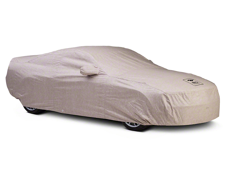 Covercraft Deluxe Custom-Fit Car Cover - 50th Anniversary Logo (05-09 GT Coupe, V6 Coupe)