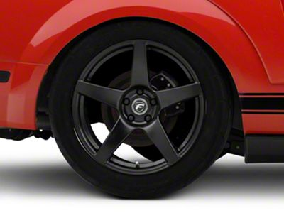 Forgestar CF5 Monoblock Matte Black Wheel - 19x11 - Rear Only (05-14 All)