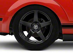 Forgestar CF5 Monoblock Matte Black Wheel; Rear Only; 19x11 (05-09 All)
