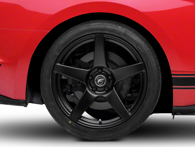 Forgestar CF5 Monoblock Matte Black Wheel - 19x11 (15-17 All)