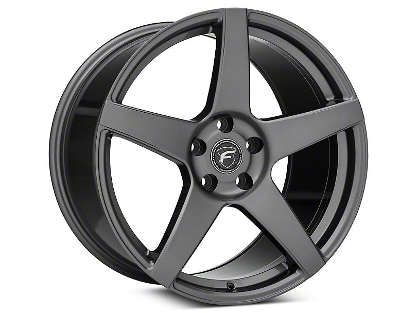 Forgestar CF5 Monoblock Gunmetal Wheel - 19x11 - Rear Only (05-14 All)