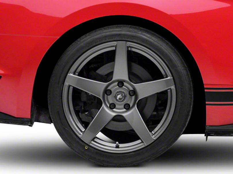 Forgestar CF5 Monoblock Gunmetal Wheel - 19x11 (15-18 GT, EcoBoost, V6)