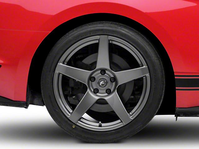Forgestar CF5 Monoblock Gunmetal Wheel - 19x11 (15-19 GT, EcoBoost, V6)