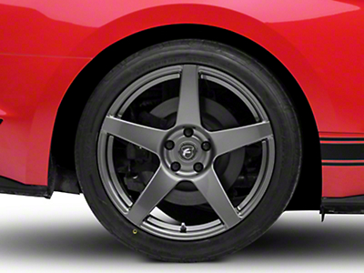 Forgestar CF5 Monoblock Gunmetal Wheel - 19x11 (15-17 All)