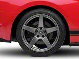 Forgestar CF5 Monoblock Gunmetal Wheel; Rear Only; 19x11 (15-20 GT, EcoBoost, V6)