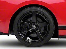 Forgestar CF5 Monoblock Piano Black Wheel; Rear Only; 19x11 (15-20 GT, EcoBoost, V6)