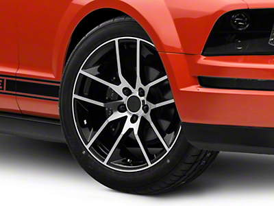 Magnetic Style Black Machined Wheel - 19x8.5 (05-14 All)