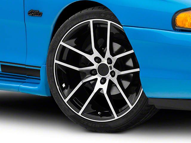 Magnetic Style Black Machined Wheel - 19x8.5 (94-04 All)