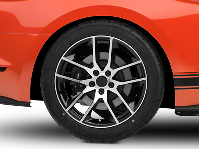 Magnetic Style Black Machined Wheel - 19x10 (15-17 All)