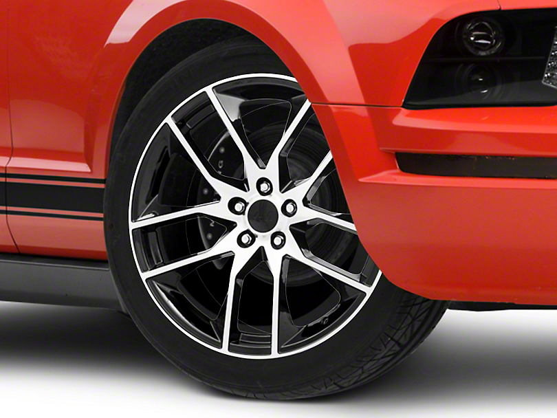 Magnetic Style Black Machined Wheel - 20x8.5 (05-14 All)