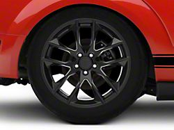 Magnetic Style Black Wheel; Rear Only; 19x10 (05-09 All)