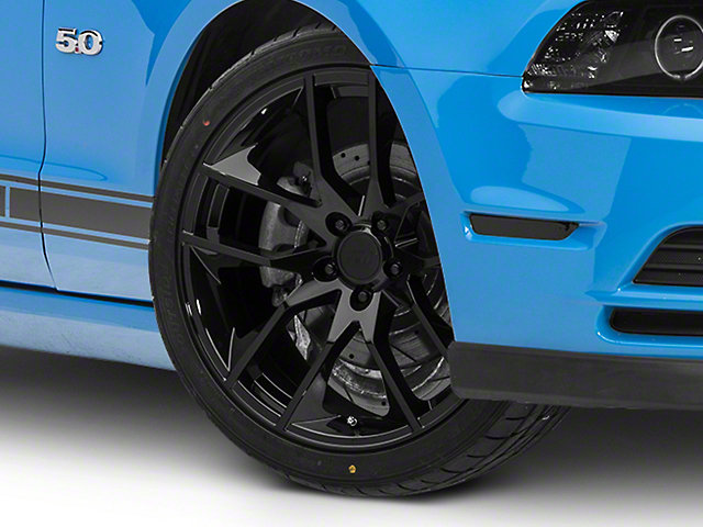 Magnetic Style Black Wheel; 20x8.5 (10-14 All)