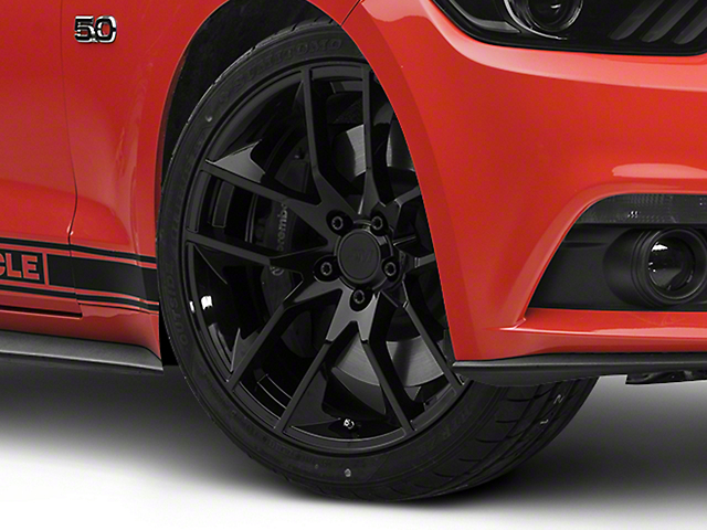 Magnetic Style Black Wheel - 20x8.5 (15-17 All)