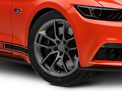 Magnetic Style Charcoal Wheel; 19x8.5 (15-20 GT, EcoBoost, V6)