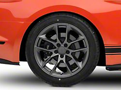 Magnetic Style Charcoal Wheel; Rear Only; 19x10 (15-21 GT, EcoBoost, V6)