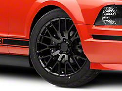 Performance Pack Style Black Wheel; 19x8.5 (05-09 All)