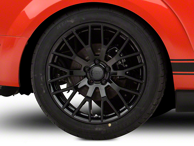 Performance Pack Style Black Wheel; Rear Only; 19x10 (05-09 All)