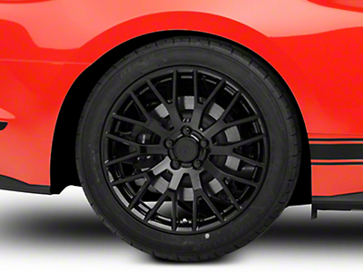 Performance Pack Style Black Wheel - 19x10 (15-18 GT, EcoBoost, V6)