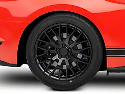 Performance Pack Style Black Wheel; Rear Only; 19x10 (15-20 GT, EcoBoost, V6)